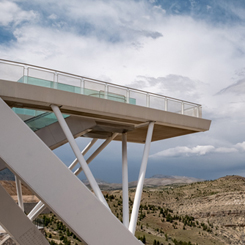 Konya Akyokuş Rekreasyon Alanı Yaya Köprüsü