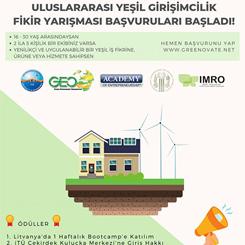 Uluslararası Yeşil Girişimcilik Fikir Yarışması