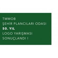TMMOB Şehir Plancıları Odası 50. Yıl Logo Yarışması Sonuçlandı