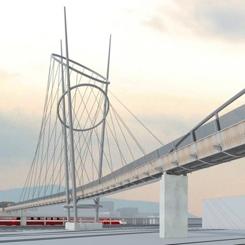 Terni Tren İstasyonu ve Yaya Köprüsü