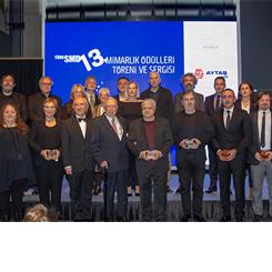 TürkSMD 13. Mimarlık Ödülleri Sahiplerini Buldu