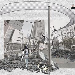 """Sonsuz Bir Artikülasyon Mekanı Olarak İstanbul"""" Öğrenci Fikir Yarışması, Eşdeğer Ödül Projesi"""