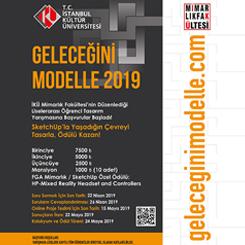 Geleceğini Modelle 2019 Liselerarası Öğrenci Tasarım Yarışması