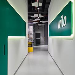 Elips Tasarım'dan WILO Pompa Merkez Ofis Eğlence ve Dinlenme Alanı