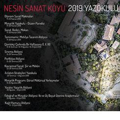Nesin Sanat Köyü 2019 Programları Başvuruya Açıldı