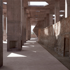 İncicilik Alanı Müzesi ve Giriş Yapısı