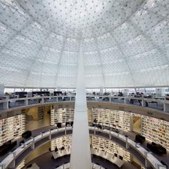 Jean Nouvel Tasarımı Kıbrıs Üniversitesi Kütüphanesi Tamamlandı