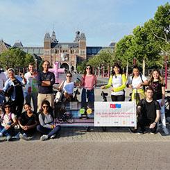 WRI Türkiye'den Hollanda'ya Bisiklet Çıkarması
