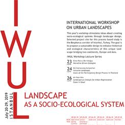 IWUL 2019: Uluslararası Kent Peyzajları Atölyesi