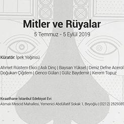 """Art50.net'ten """"Mitler ve Rüyalar"""" Sergisi"""