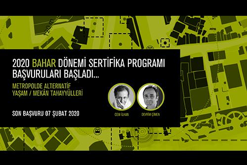 AURA İstanbul, 2020 Bahar Dönemi Sertifika Programı Başvuruları Başladı