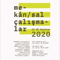 2020 // Ulusal Lisansüstü Mekansal Çalışmalar Sempozyumu