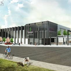 Aura Design Studio, Çankaya Belediyesi Spor ve Kültür Kompleksi'ni Tasarladı
