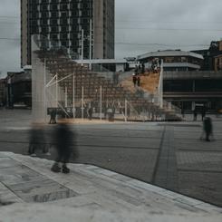 """Taksim Meydanı'nda """"Kavuşma Durağı"""""""