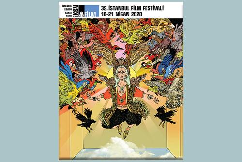 39. İstanbul Film Festivali'nin Afişini Cem Özüduru Tasarladı