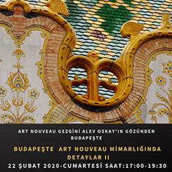 Budapeşte Art Nouveau Mimarlığında Detaylar II