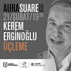 "AURA Suare: Kerem Erginoğlu ""Üçleme"""