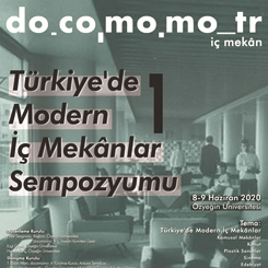 Türkiye'de Modern İç Mekanlar Sempozyumu 1