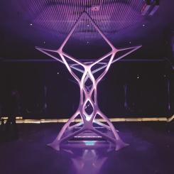 3D Sanat Enstalasyonu 'Taxon' Ziyarete Açıldı