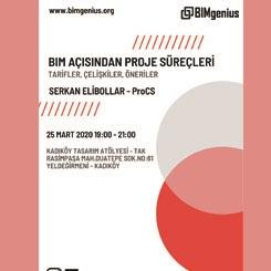 BIMgenius: Serkan Elibollar 'BIM Açısından Proje Süreçleri'