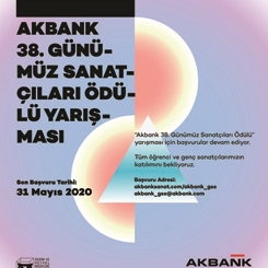Akbank 38. Günümüz Sanatçıları Ödülü  Yarışması