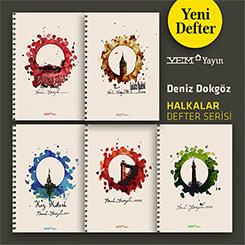 YEM Yayın'dan Yeni DEFTER Serisi