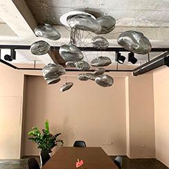 BOCCI Aydınlatma Yerleştirmeleri Mozaik işbirliği ile In-Between Design Space'te