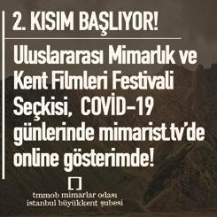 Uluslararası Mimarlık ve Kent Filmleri Festivali Seçkisi Online Gösterimi 2. Kısım Başladı