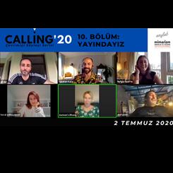 Calling Söyleşi Serisi 10. Bölümünü Kutladı