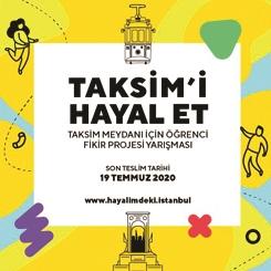 Taksim Meydanı İçin Öğrenci Fikir Projesi Yarışması'nın Sergisi Açıldı