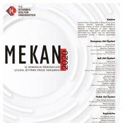 MEKAN2020 İç Mimarlık Öğrencileri Ulusal Bitirme Projesi Yarışması