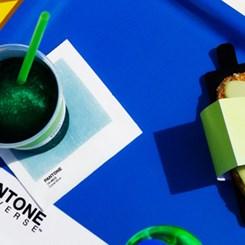 Pantone Cafe'de Renklerin Tadına Bakın