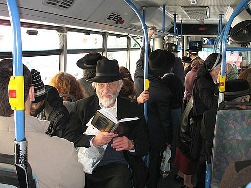 Kudüs'te bir halk otobüsü