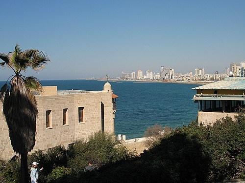 Yafo'dan Tel Aviv'in görünüşü