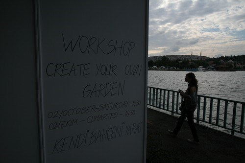 'Create your own garden' workshop'u