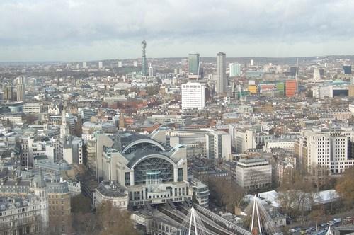 London Eye'dan Kente Genel Bir Bakış
