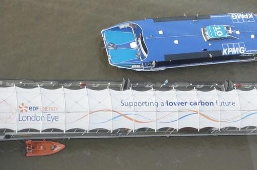 London Eye Düşük Karbonlu Bir Geleceği Destekliyor
