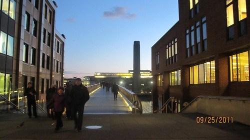 Tate Modern ve Milenyum Köprüsü