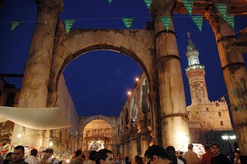 Şam'ın tarihi çarşısı bir zamanlar hayat doluydu