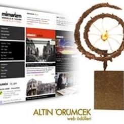 mimarizm.com Altın Örümcek finalisti!
