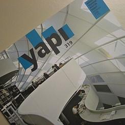 Mimarlık, Kültür ve Sanat Dergisi YAPI'nın Haziran Sayısı Çıktı!
