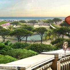 Fellini Draması ile Burle Marx'ın Peyzajı Arasında Bir Rimini: JDS'den Seascape Projesi