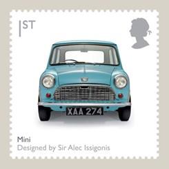 20'inci Yüzyılın İkonik İngiliz Tasarımları Posta Pullarında
