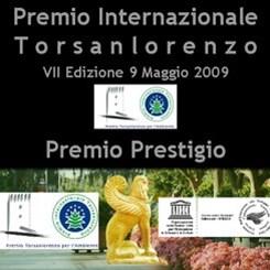 2009 Uluslararası Torsanlorenzo Ödülleri'nde Sonuçlar Açıklandı