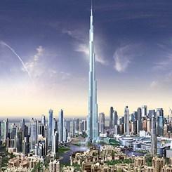 Burj Dubai En Tepede!