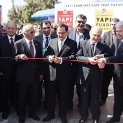 Yapı Fuarı Ankara 2010, Bakan Demir'in Katılımıyla Açıldı