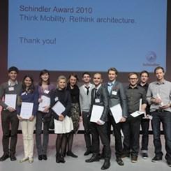 İsviçreli Takım 2010 Schindler Ödüllerinde Birinciliği Aldı