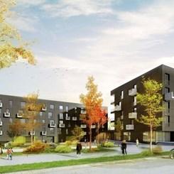 AllesWirdGut Architects'ten Lüksemburg'a 'Pasif Ev' Standartlı Karma Proje