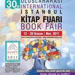 30. Uluslararası İstanbul Kitap Fuarı Açılıyor