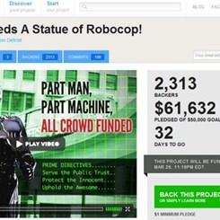 Detroit, Koruyucusu Robocop'un Heykeline 'Evet' Diyecek mi?